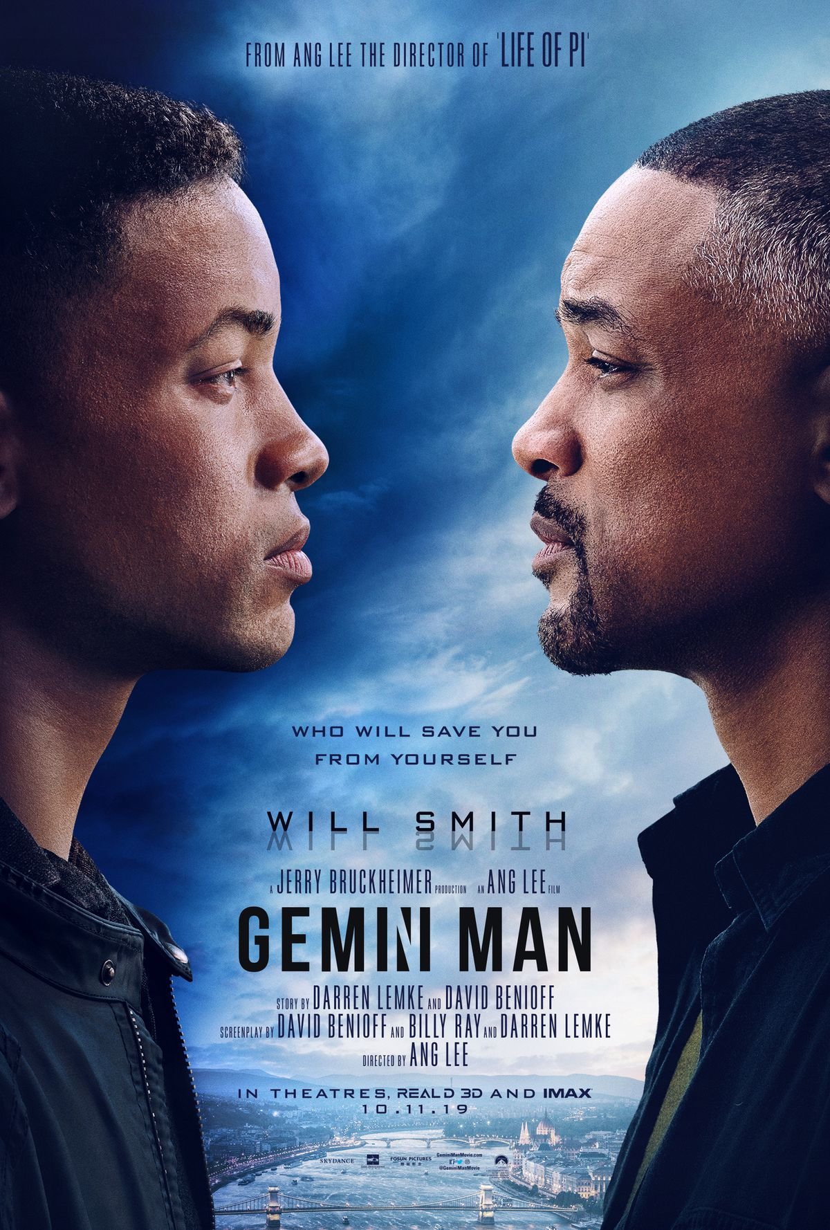 Film De Will Smith : smith, Gemini, Trailer, Smith, Against, De-aged, Version, Himself, Polygon