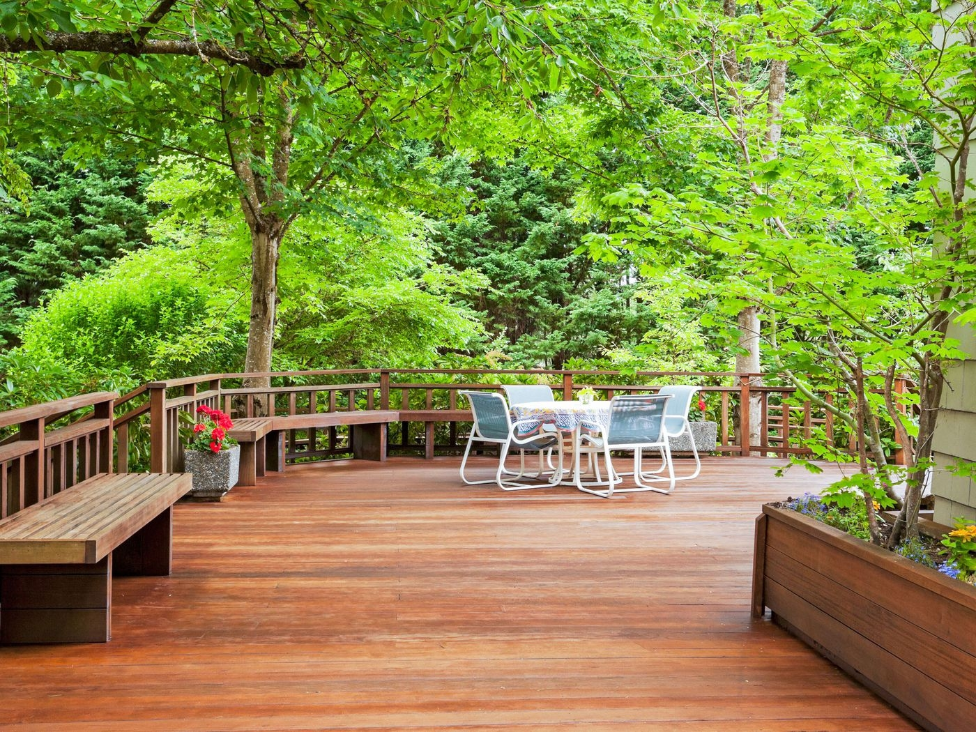 Go From An Old Deck To New In 4 Steps This Old House | Repairing Outdoor Wooden Steps | Staircase | Patio | Concrete Slab | Front Porch | Stringer