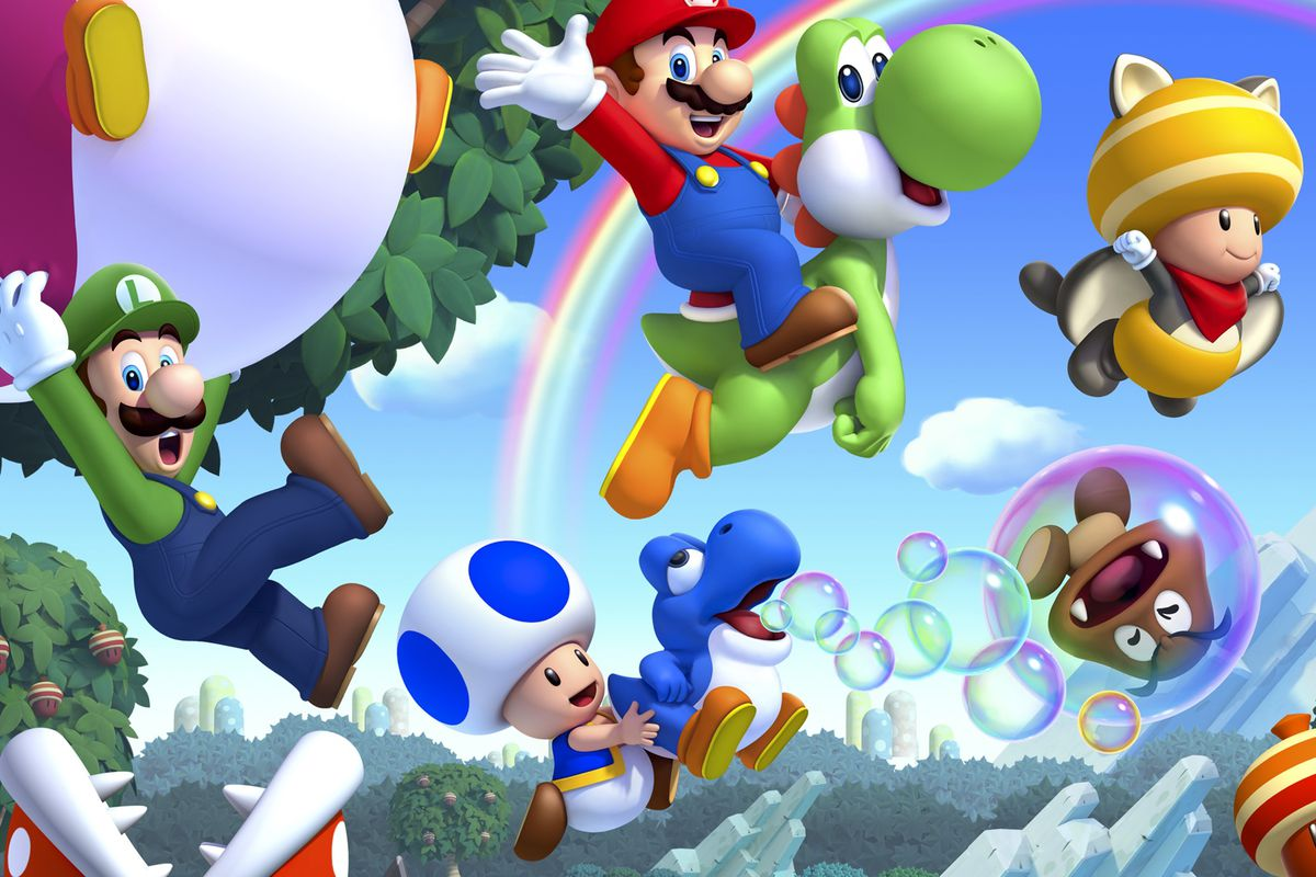 New Super Mario Bros U Deluxe Has Playable Blue Toad But One Toad At A Time Polygon