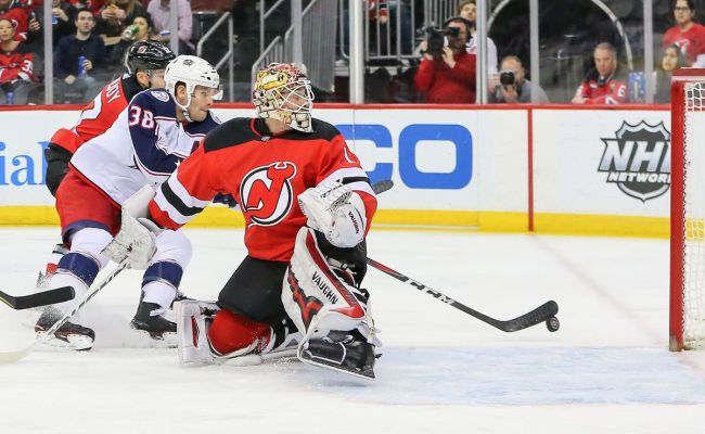 Columbus Blue Jackets Acquire New Jersey Devils Goaltender