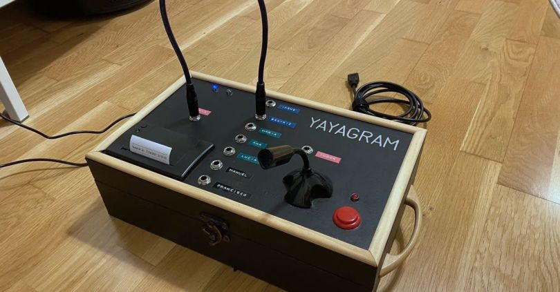 Inventive grandson builds Telegram messaging machine for 96-year-old grandmother
