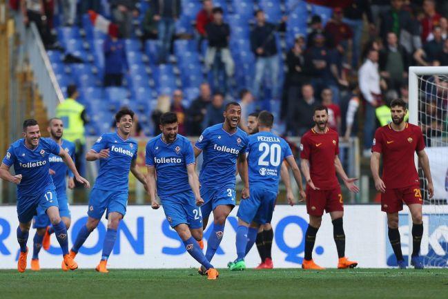 Image result for Fiorentina vs Roma photos