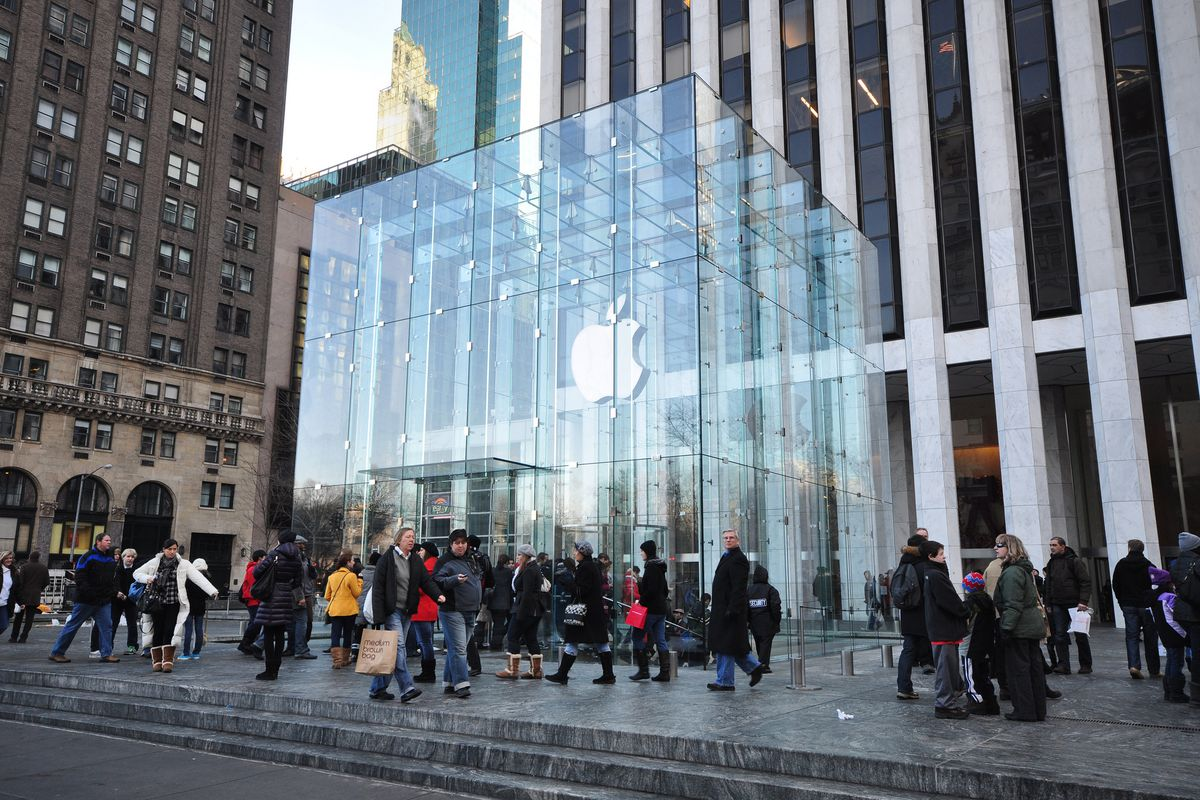 Apple Store's glass cube on Fifth Avenue is taking a sabbatical - Curbed NY