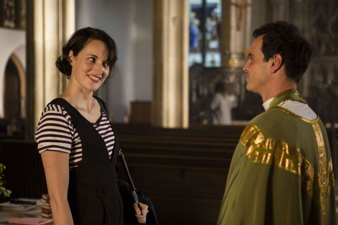 fleabag talks to hot priest in season 2