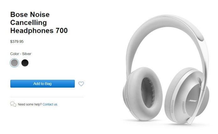 Apple store Bose  headphones