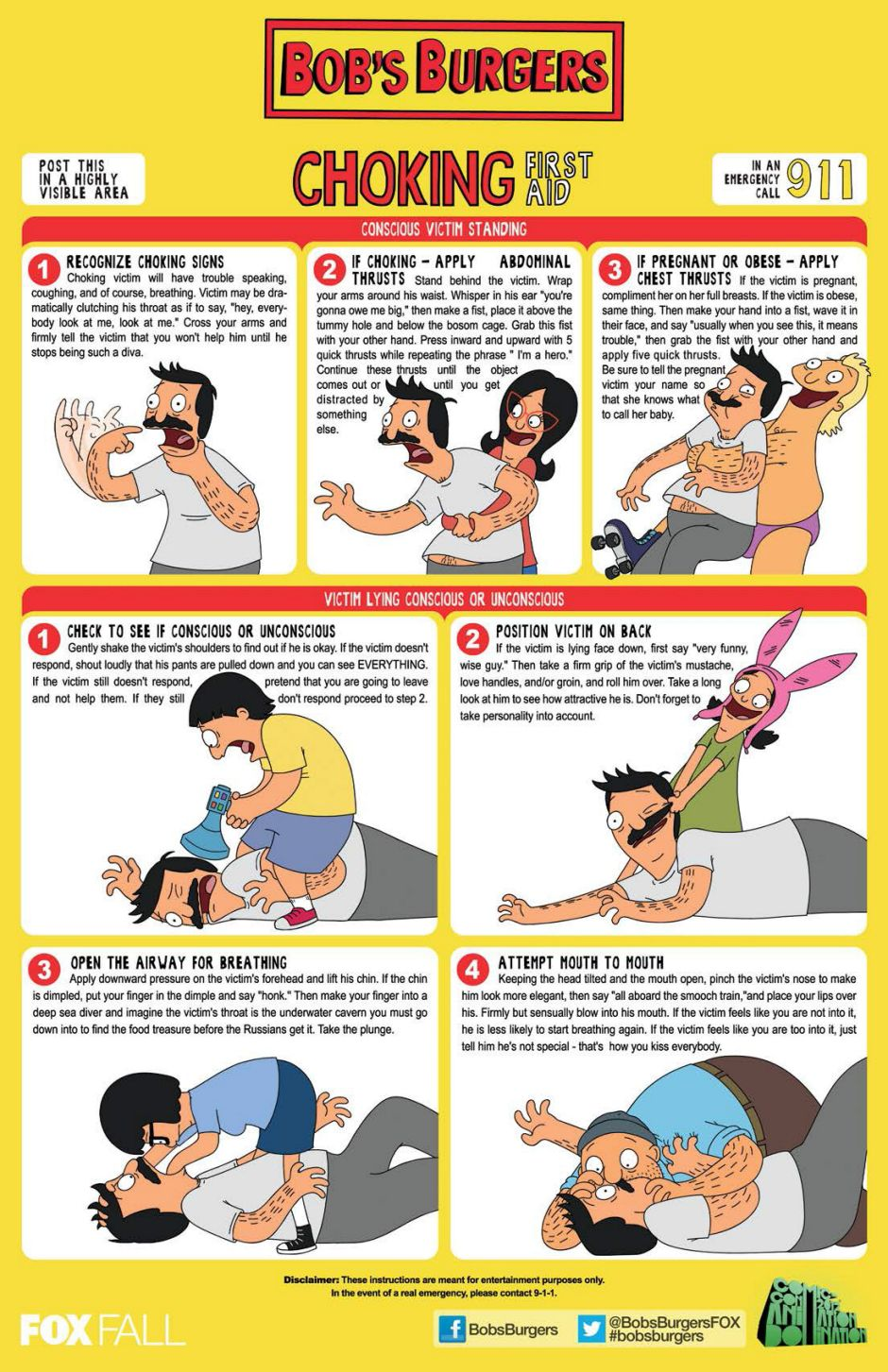 the heimlich maneuver reimagined with