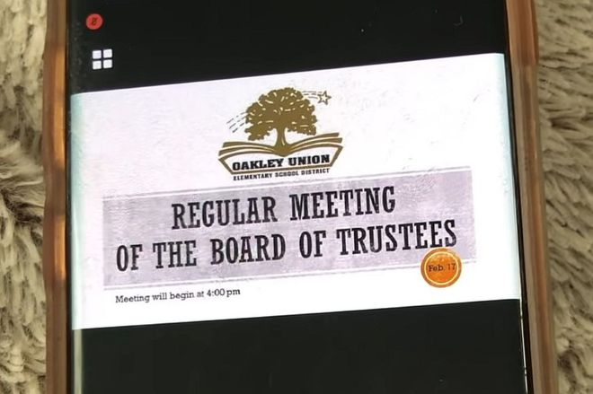 oakley_union_board.0 Entire school board resigns in shame after forgetting their WebEx call was public | The Verge