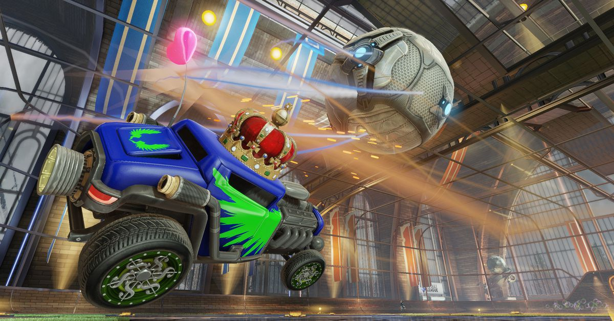 Rocket League is going free-to-play