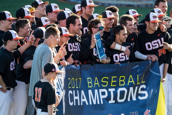 Oregon State Baseball College World Series 2017