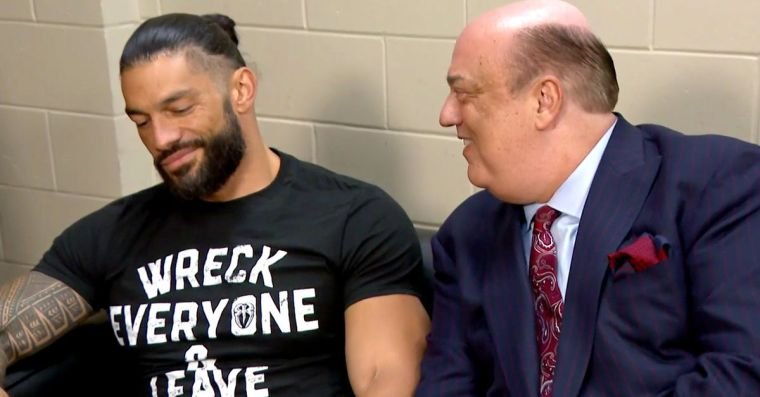 Reigns wants to keep working with Heyman for the rest of his career
