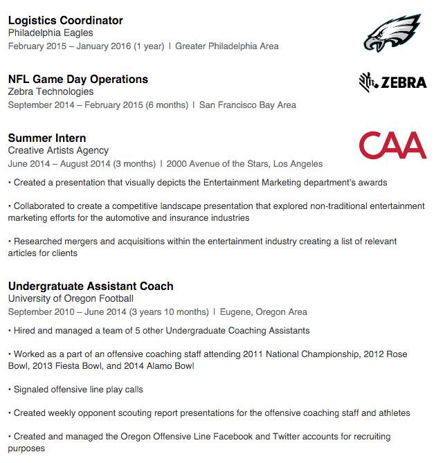 linkedin replace resume