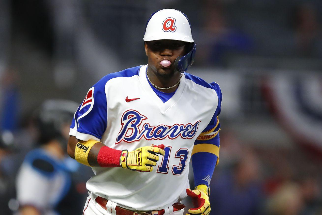 Miami Marlins v Atlanta Braves