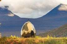 Solar Egg Sauna Visits American Swedish Institute In