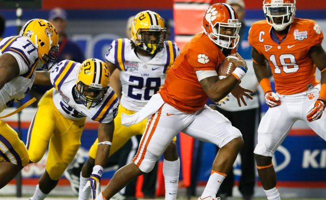 Clemson And Lsu Announce First Ever Death Valley Tigers