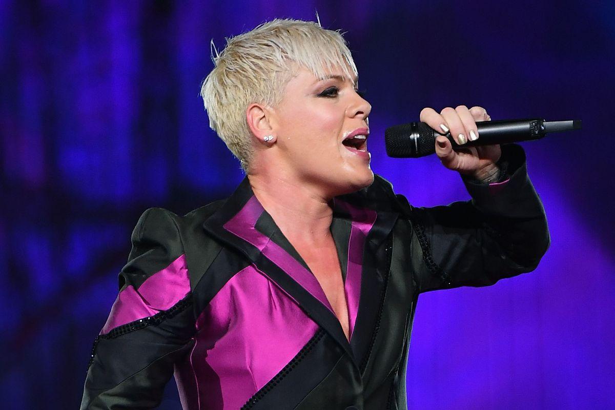 pop star pink is