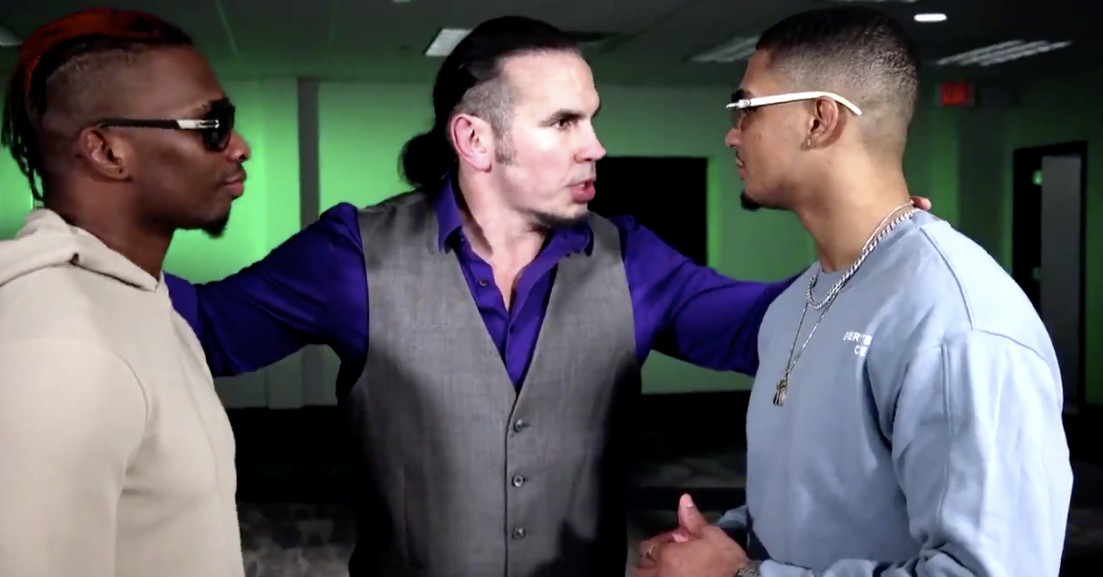 Matt Hardy places bounty on AEW and Impact tag titles