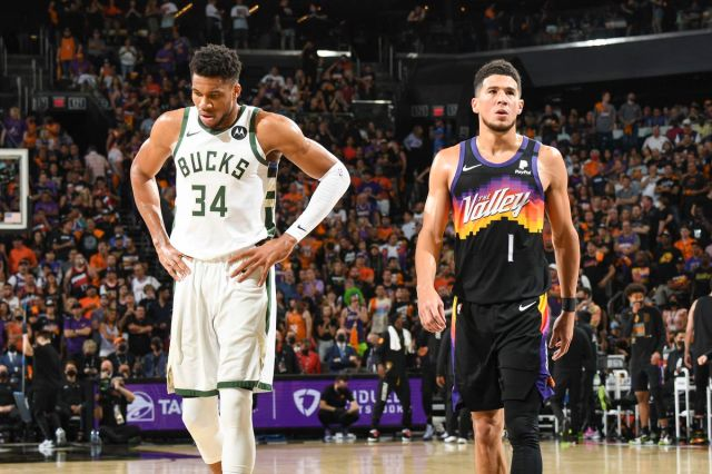 Bucks vs. Suns Game 5 final score: Big 3 for Milwaukee comes through in  123-119 win - DraftKings Nation