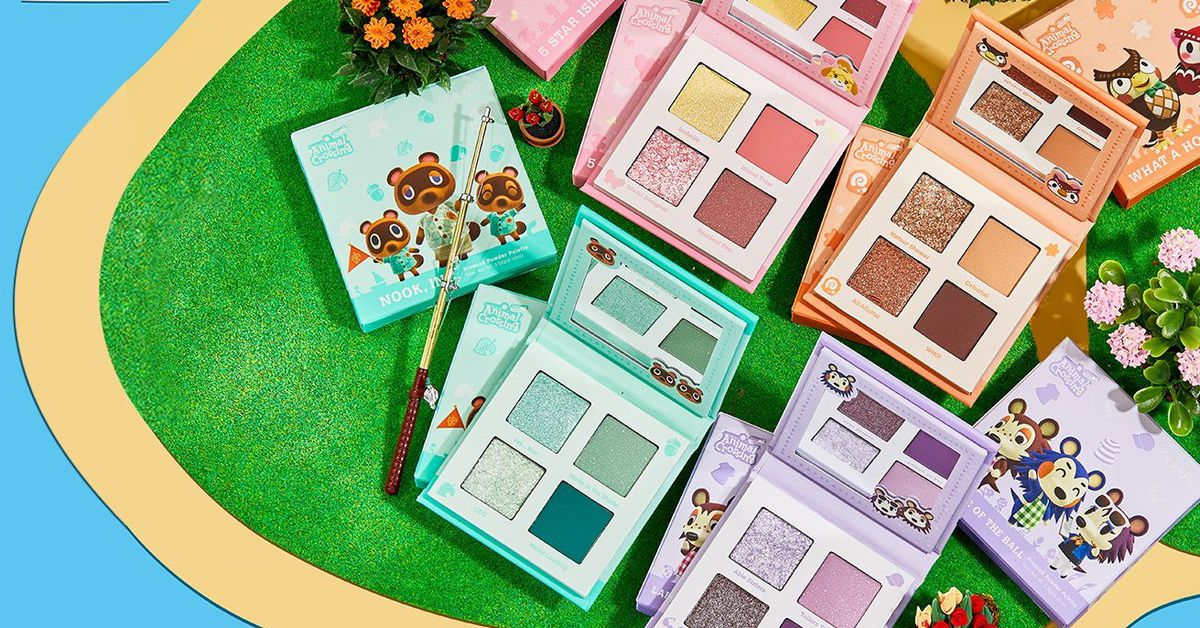 Animal Crossing is getting an official makeup line