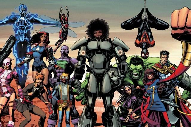 SJW Marvel