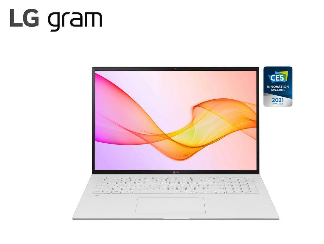 2021 LG gram 17Z90P White