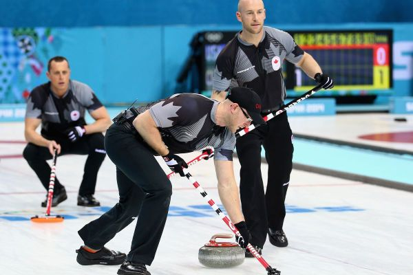 2014 Olympic Curling Medal Events Schedule Canada Great Britain Battle Gold