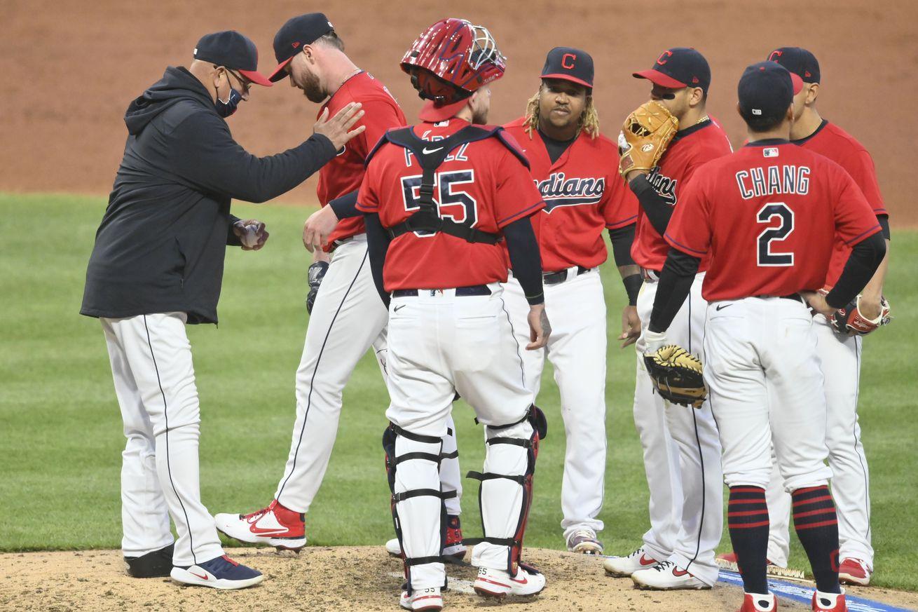 MLB: New York Yankees at Cleveland Indians