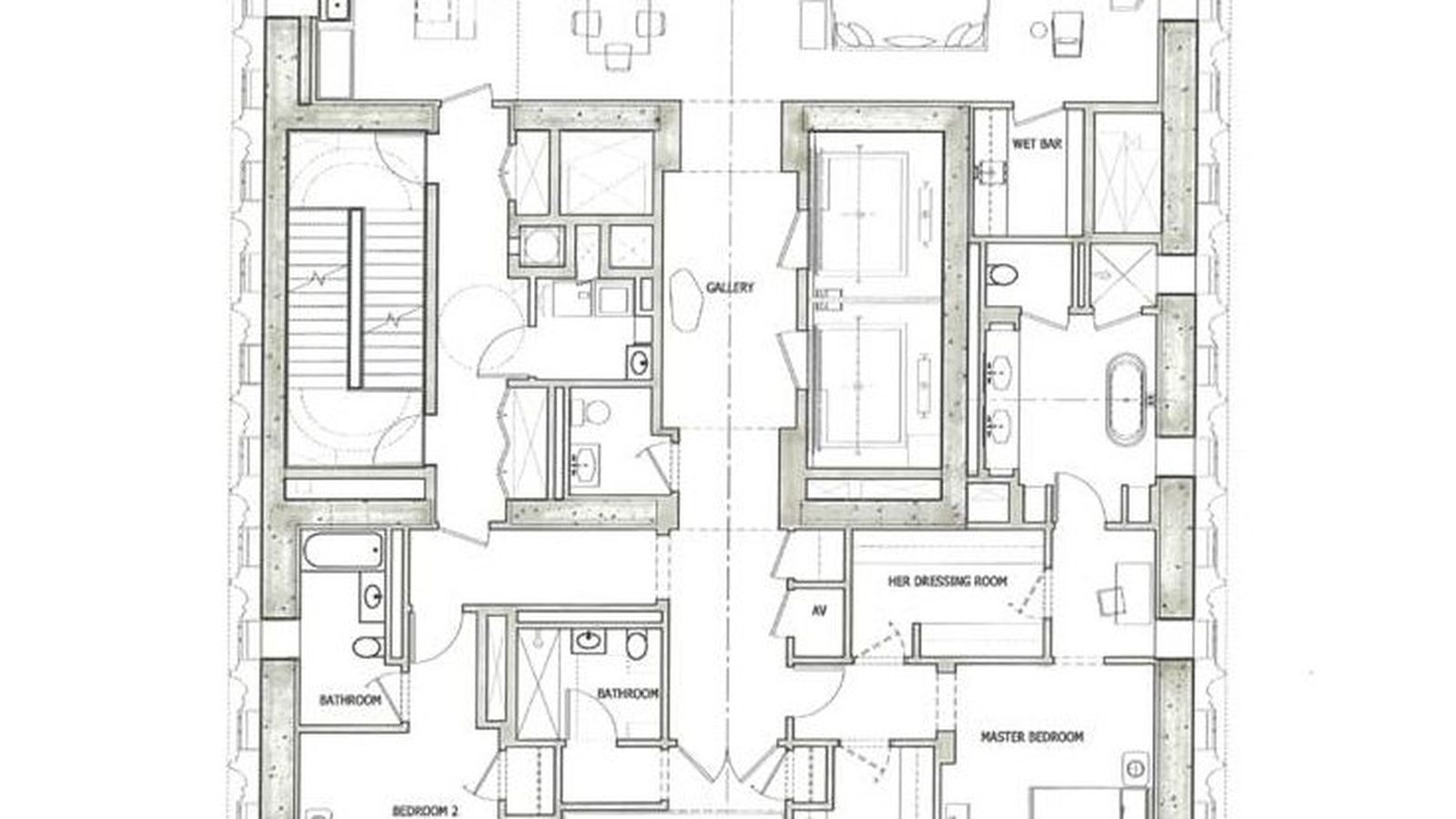First Floorplan For The World S Skinniest Skysc R