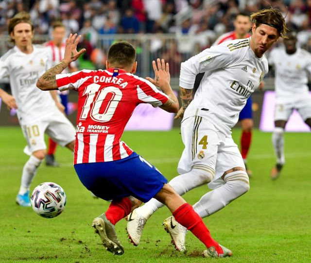Predicted Lineups Real Madrid Vs Atletico De Madrid  La Liga