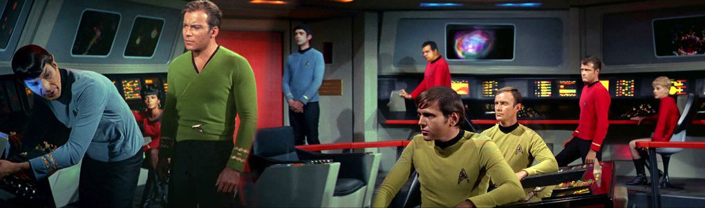 Star Trek The Original Series Scenes Look Fantastic As