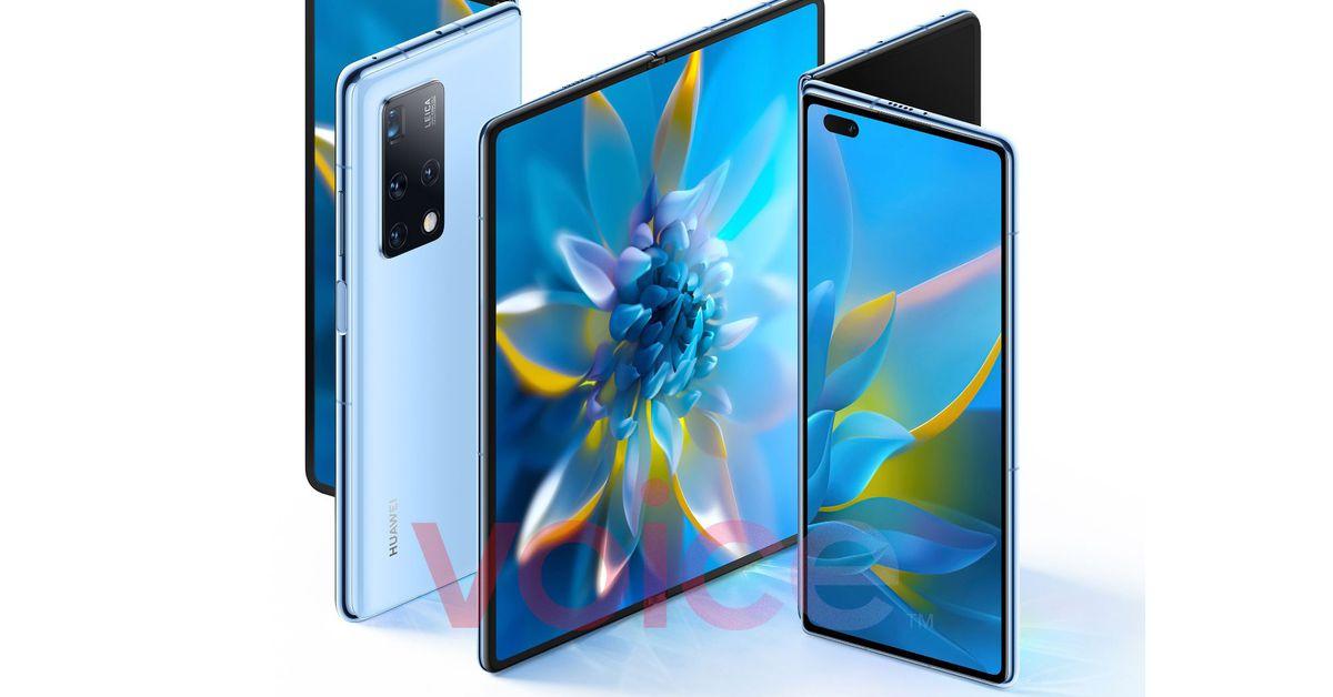 Huawei foldable Mate X2 leaks