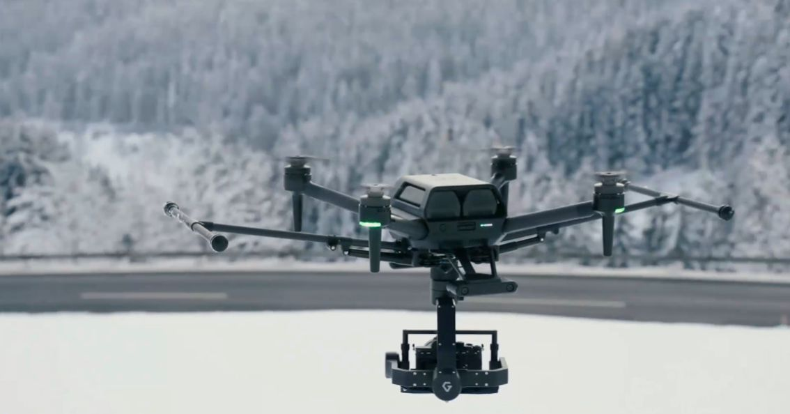 Sony announces the professional Airpeak S1 drone that it teased at CES