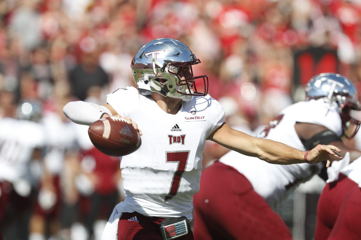 Football NCAA: Troy at Nebraska