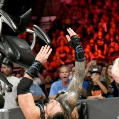 Wrestling Chair Shots Elite Massage Braun Strowman And Roman Reigns Re Define The Shot