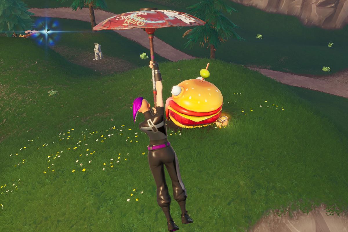 fortnite painted durrr burger