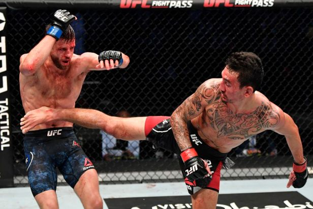 UFC Fight Island 7 in Tweets: Pros react to incredible fight between Max  Holloway and Calvin Kattar - MMA Fighting