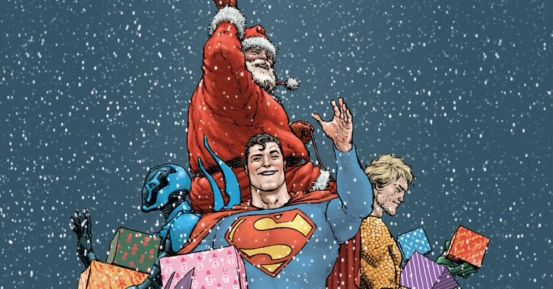 Santa is a canon in the comic universes of Marvel and DC – here's the proof