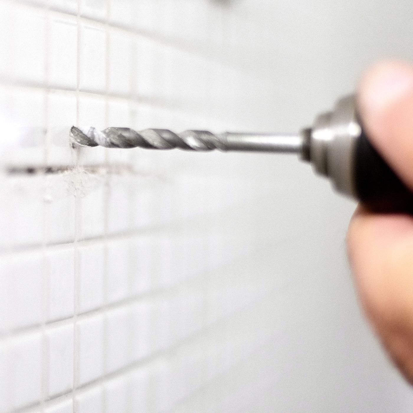how to drill through tile with ease