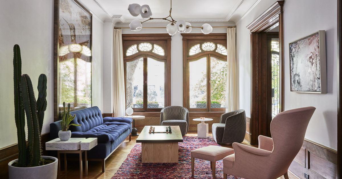 A Brooklyn townhouse built in 1901 gets a revampwith a
