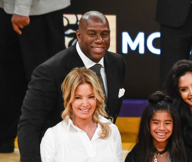 Jeanie Buss Says She And Magic Johnson Are As Tight As Any Two Executives Can Be But That She Did Doubt Some Of The People She Was Working With This