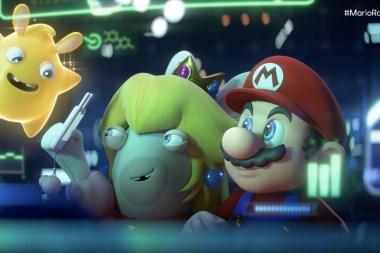 Ubisoft announces Mario + Rabbids sequel for 2022