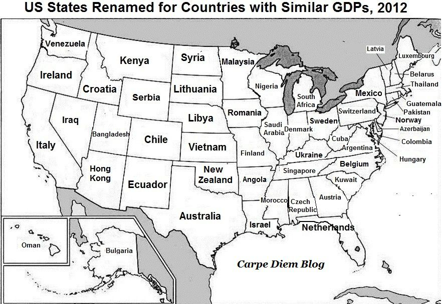 13 maps about America worth bringing up at dinner parties