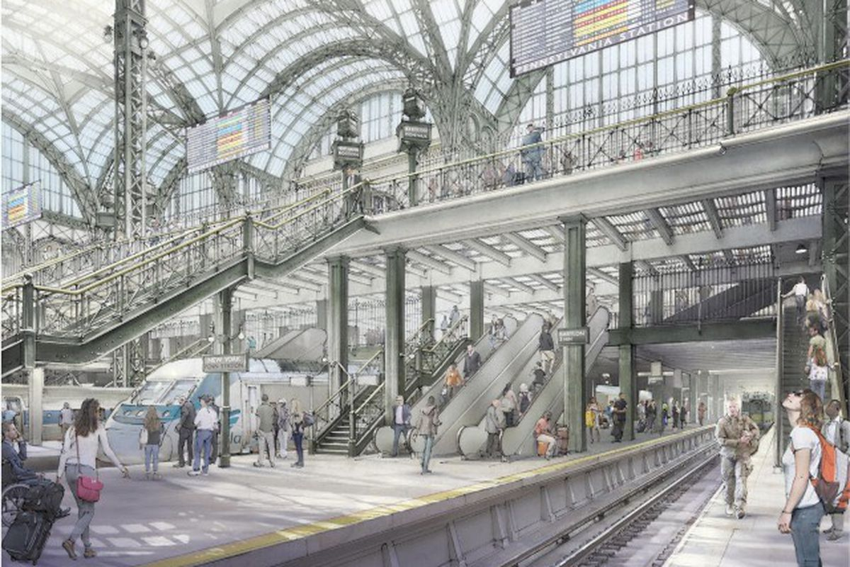 A New Vision For Penn Station Subway Shopping Gets