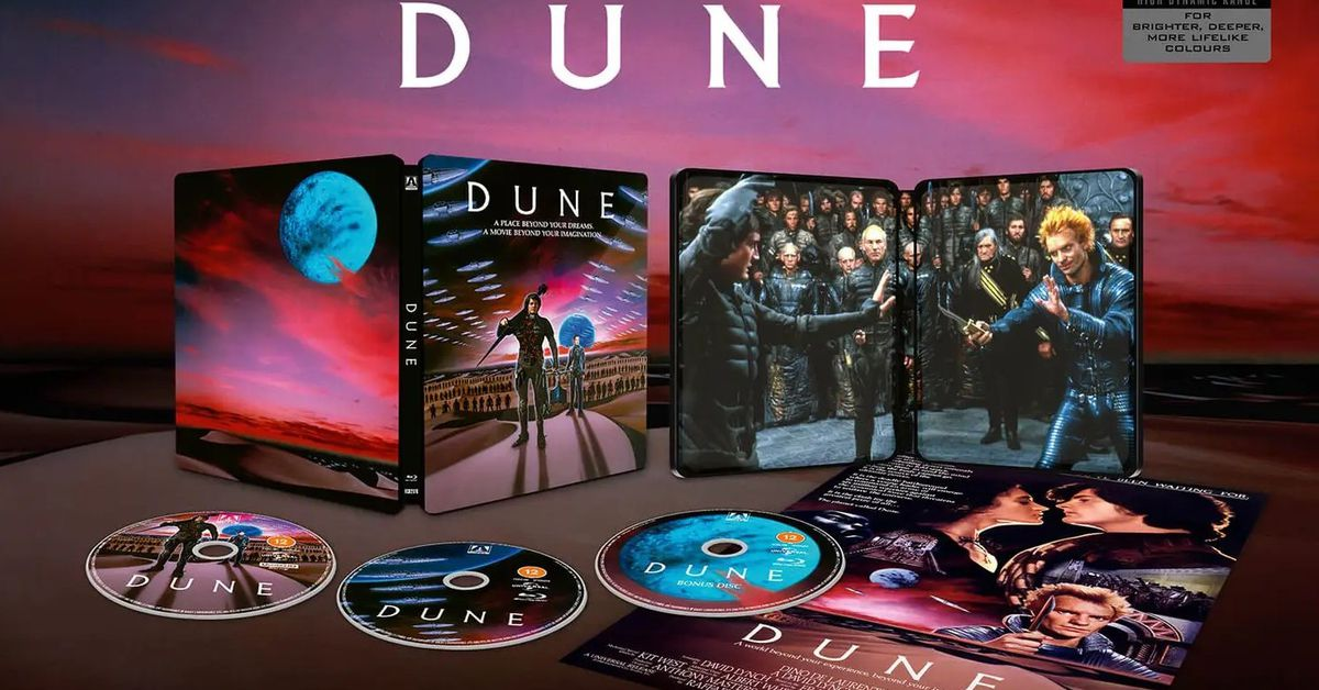 The original Dune movie is also getting a 4K release this year
