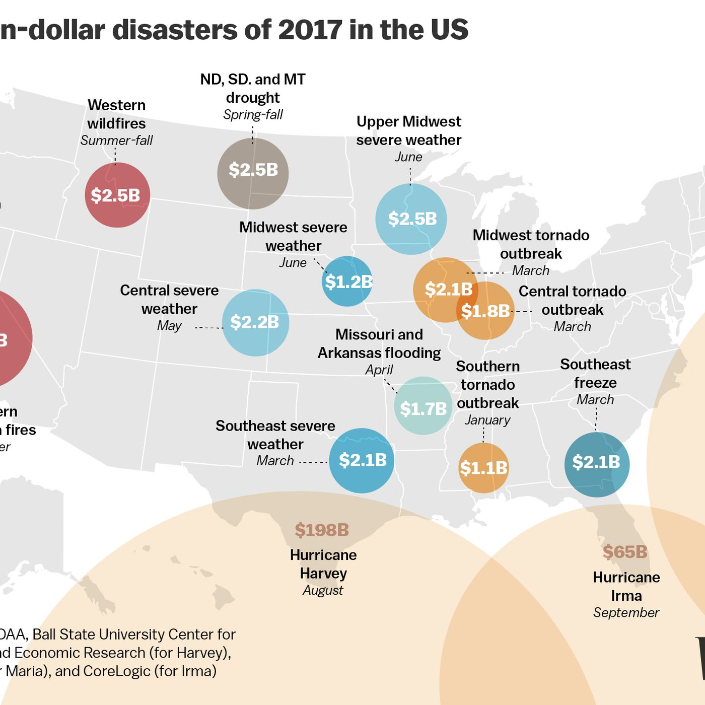 hight resolution of disasters 2017 the devastating hurricanes fires floods and heat explained vox