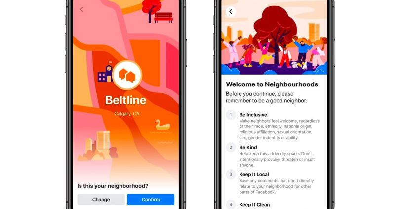 Facebook's Nextdoor-clone Neighborhoods is coming soon to four US cities