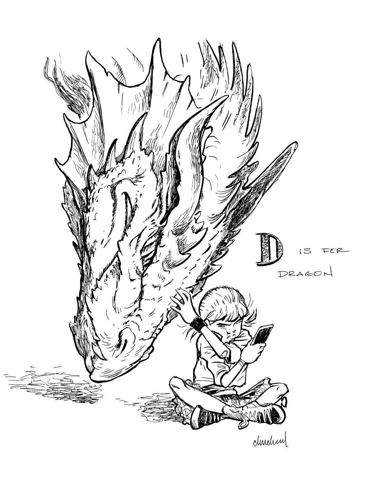 D&D children's books teach ABCs and 123s through