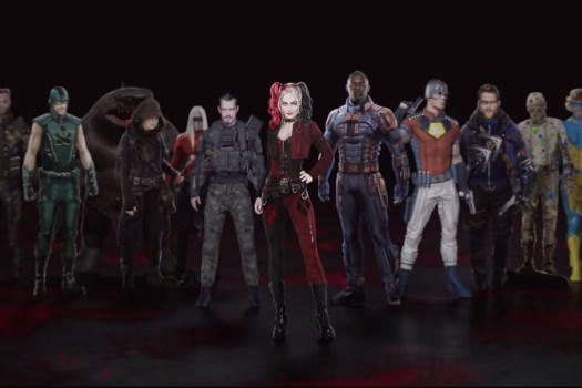The Suicide Squad lineup from James Gunn's The Suicide Squd