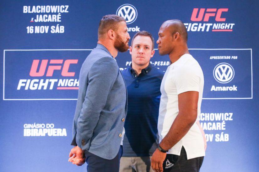 UFC Fight Night Blachowicz v Jacare: Ultimate Media Day
