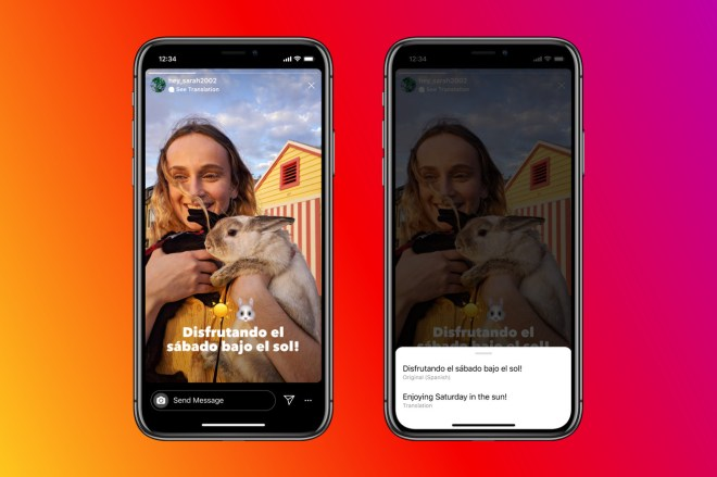 Press__2_.0 Instagram can now automatically translate text in stories | The Verge