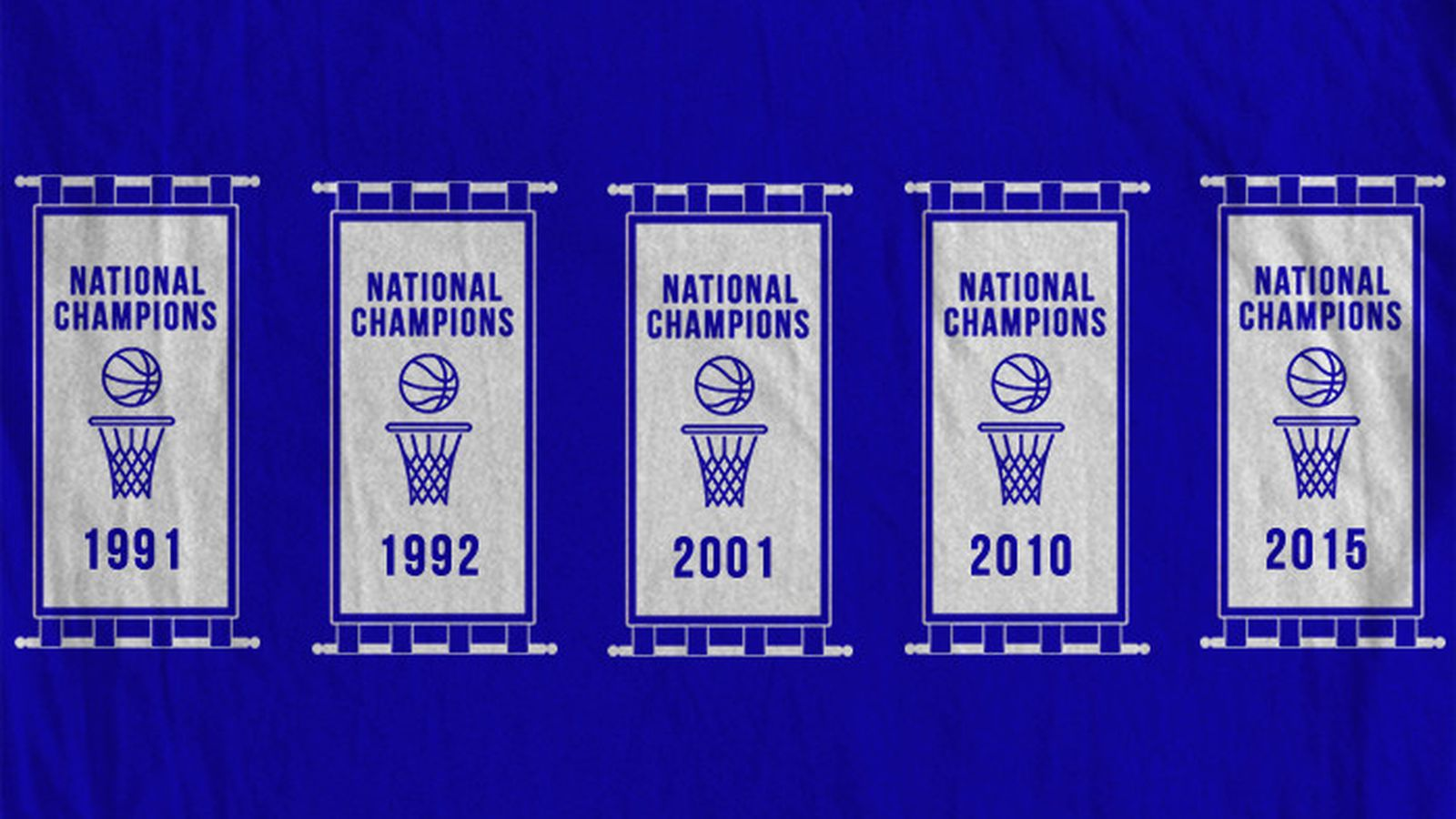 Championship T Shirts Five Banners Duke Basketball Report